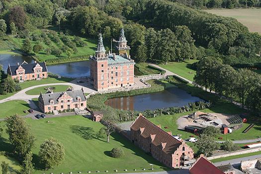 Flygbild Marsvinsholm