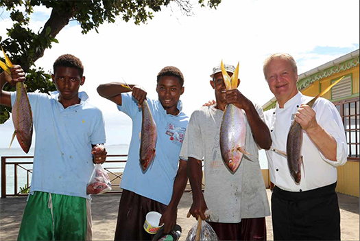 Nils-Bertil i Karibien